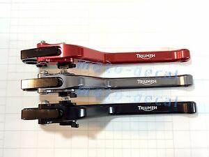 CNC Brake Clutch Triumph SPRINT ST/RS (2004-2009) Adjustable Engrave Long Lever