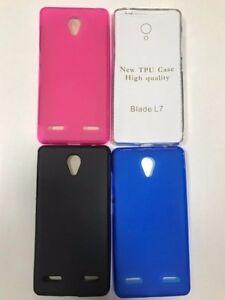 Funda-Silicona-ZTE-Blade-L7-protector-cristal-templado-opcional