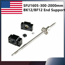 Ball Screw Sfu1605 Rm1605 End Machined L300mm 2000mm Amp Bk12bf12 End Support