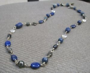 New David Yurman 34 Quot Sterling Ultramarine Elements Bead