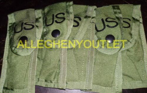Set of 5 Alice 9mm Single Mag Magazine OD Pouches Lot of 5
