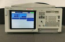 Agilent Logic Analyzer 1670g 136 Ch Portable Keysight With Lan Port Option 001