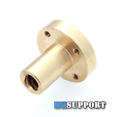 Brass ∅27mm Flange Nut for DIY CNC 3D Printer ∅8mm 4-Start Lead Screw