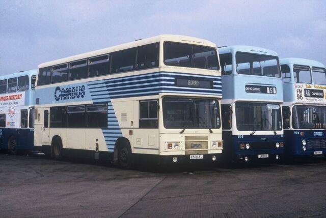 Cambus E501LFL & UWW8X Bus Photo