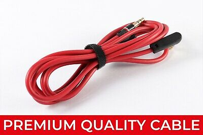 AUX 3.5mm CABLE FOR BEATS HEADPHONES 3.5mm AUX STUDIO SOLO LEAD WIRE on