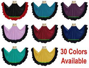 Cotton-Gypsy-Designer-Flamenco-Skirt-12-Yard-BellyDance-Tribal-Ethenic-Jupe-Boho