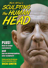 SCULPTING the HUMAN HEAD DVD Mark Alfrey how-to sculpt clay sculpture LAST ONES!