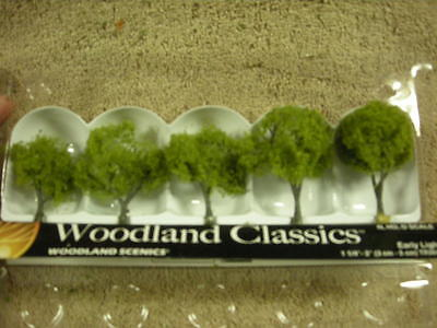 """3546 1 1//4/""""-2/"""" Early Light Trees New In Box"""