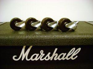 Usa Marshall Cabinet Roulettes Amplificateur Amp Guitare Jcm Jvm Dsl 1936 1960 Roues-afficher Le Titre D'origine Petit Profit