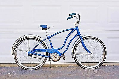 Vintage Schwinn Bicycle Bike Schwinn Convertible Bantam Sky Blue 1980 Chicago