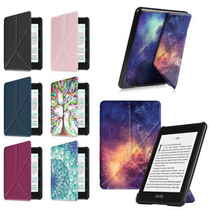super popular cbdd6 66fb6 Details about Fintie Origami Case Cover for All-New Kindle Paperwhite  E-Reader 10th Gen 2018