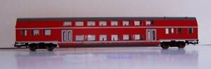 PIKO-53110-Doppelstockwagen-rot-DB-2-Kl-101