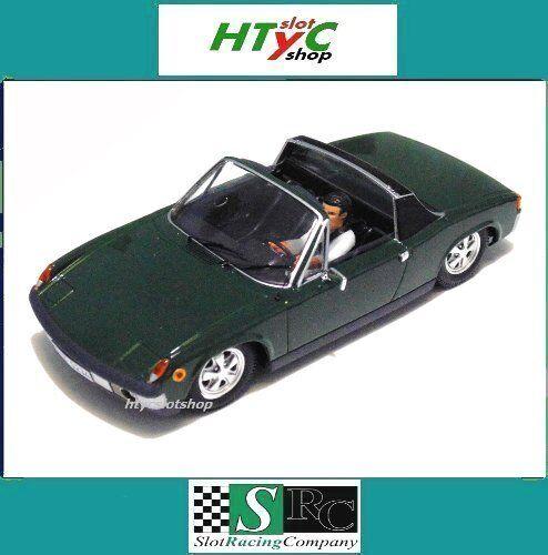 Src porsche 914   6 gt street grüne irische version slot - racing - firma 02002us