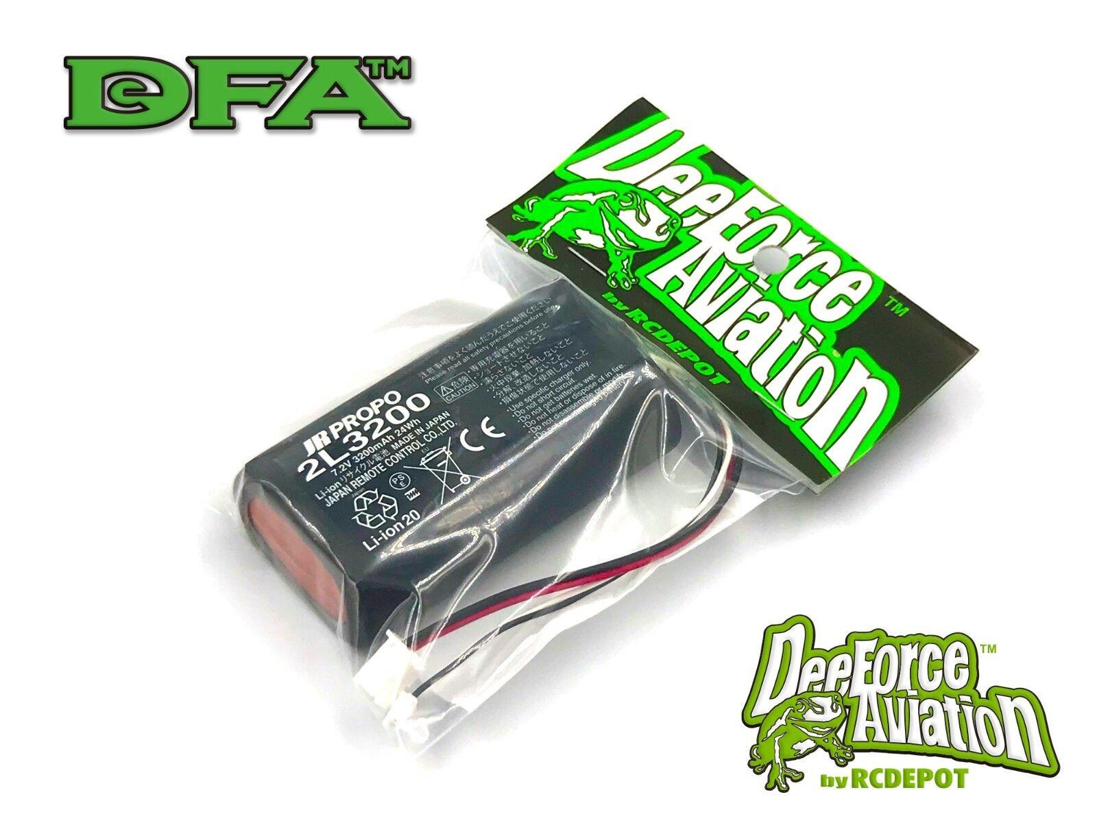 JR DFA Transmitter Battery Li-ion 7.2V 3200mAh 24Wh for 28X