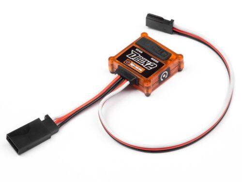 Offroad Hpi 105409 D-Box 2 Gyro Verstellbar Stabilität Control System auf