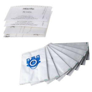 10PCS-3D-Efficiency-Dust-Bags-Filters-For-Miele-GN-Hyclean-Vacuum-Cleaner-USEFUL