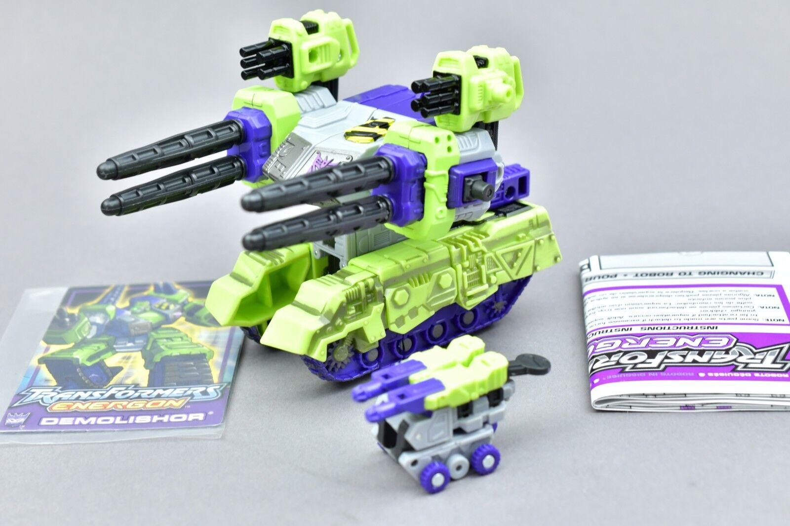 Transformers Energon Demolishor Complete Deluxe KB Exclusive