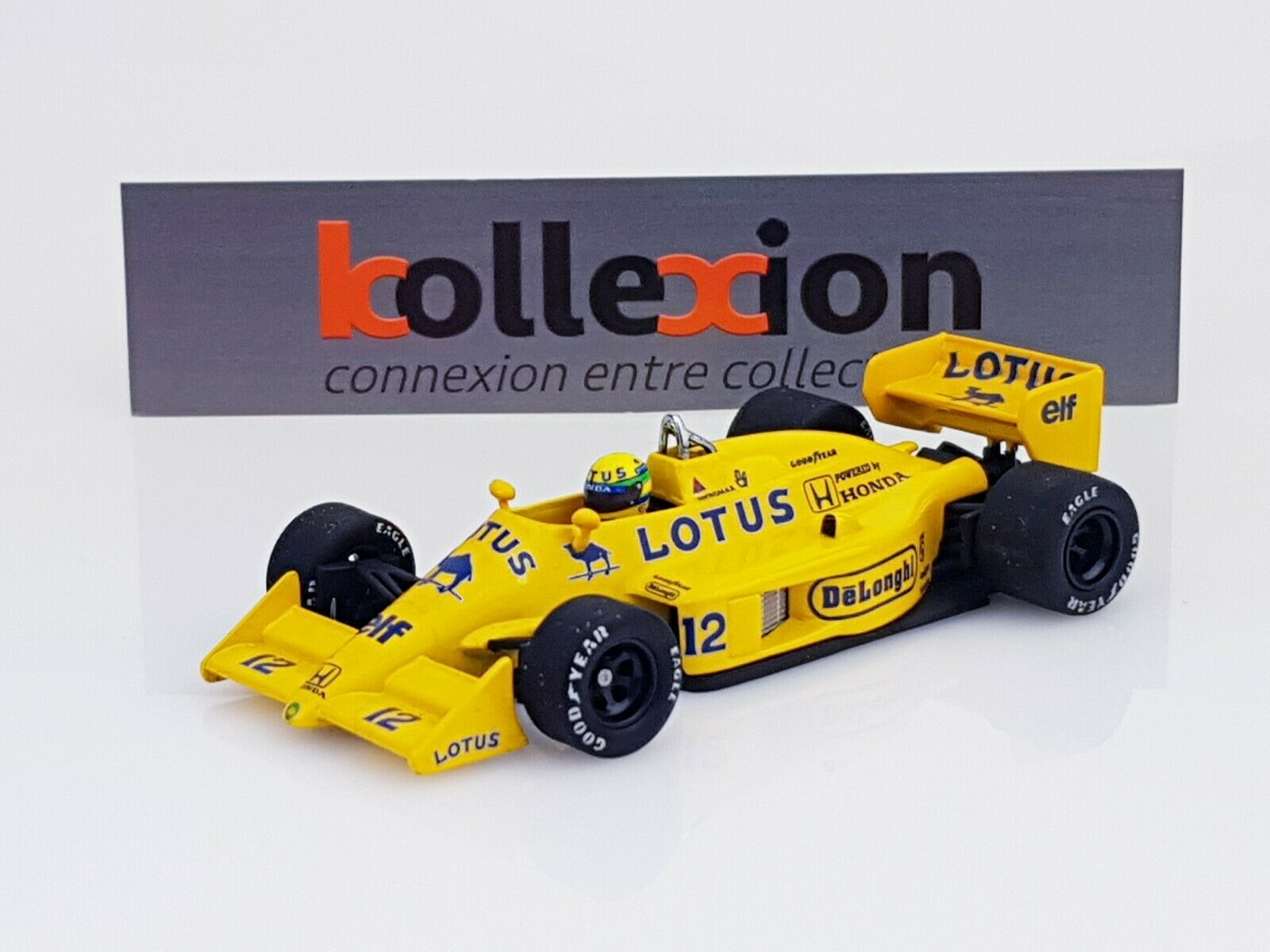 Minichamps 540874312 lotus 99t honda turbo 1987 A. senna 1.43