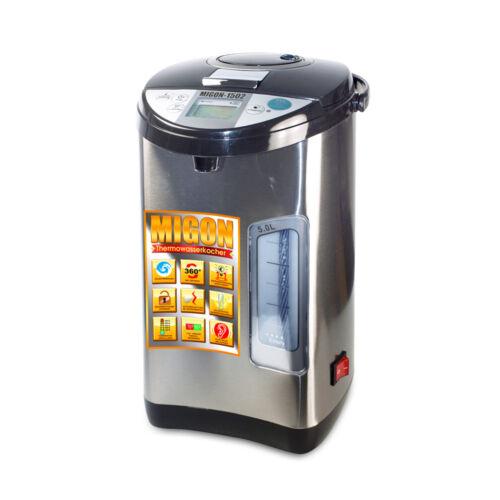 Migon 5 L Thermopot thermoautomat chauffe-eau d/'Eau Chaude Distributeur M interrupteur marche//arrêt