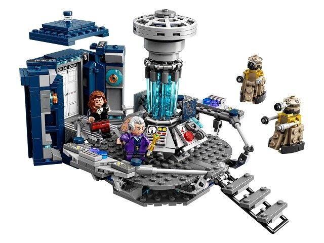 LEGO Doctor Dr Who Tardis Set 21304 e Nuovo Di Zecca Sigillato in Fabbrica