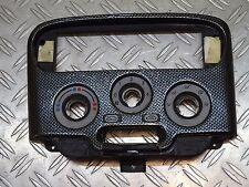 Fiat Barchetta 183 Verkleidung Blende Abdeckung Heizungsbedienteil  Carbon Look