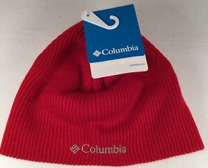 39677ac2e2a Youth Columbia Whirlibird Watch Red Cap Beanie One Size NWT Acrylic ...