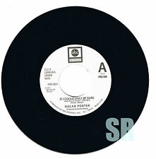 Nolan Porter If I Could Only Be Sure Northern Soul  Vinyl 45 Listen