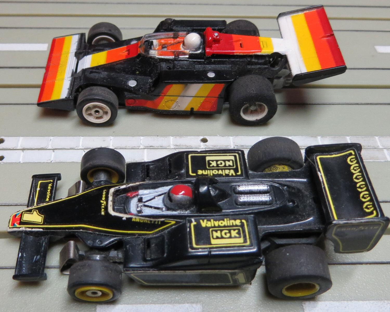 Faller Aurora - Formula 1 Indy Special + Lotus con G-Plus Motori