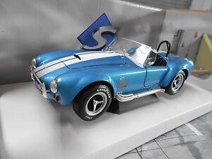 AC-SHELBY-COBRA-FORD-v8-427-MKII-BLU-BLUE-MET-1965-solido-metallo-nuovo-1-18