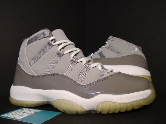 2001 NIKE AIR JORDAN XI 11 RETRO COOL GREY WHITE CONCORD SPACE JAM 136046-011 9