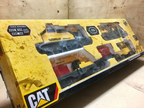 Construction Express Train Set CAT COMPLETE