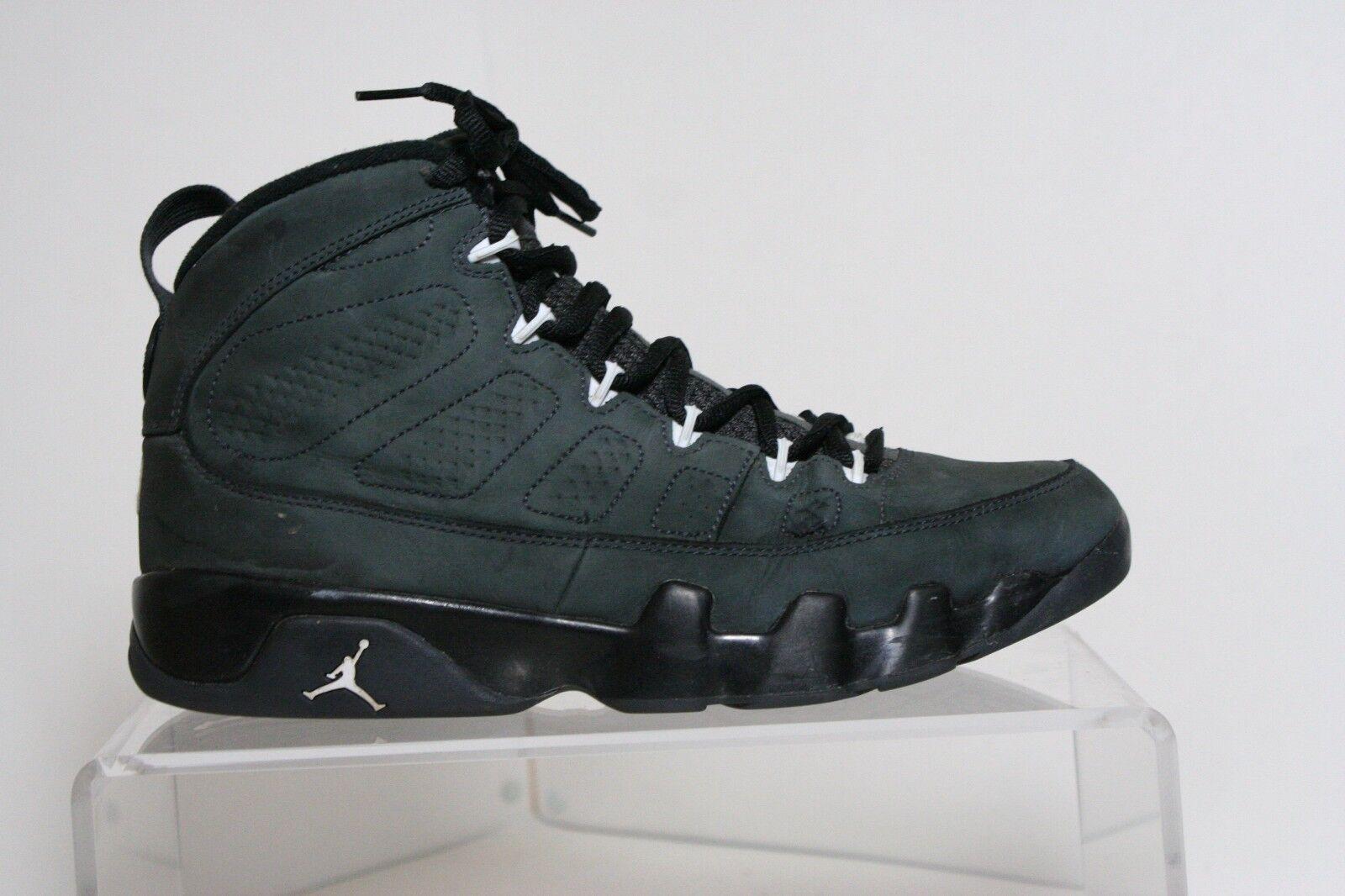 Nike Air Jordan IX 9 Retro 15' Sneaker Athletic Anthracite Men 10.5 B-Ball Hip