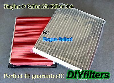 AIR FILTER CABIN FILTER COMBO FOR 2010 2011 2012 FORD FUSION 3.5L ONLY
