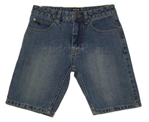 Rip Curl BULLER WALKSHORT Boys Shorts Jeans Denim Walkshorts Size 10-16