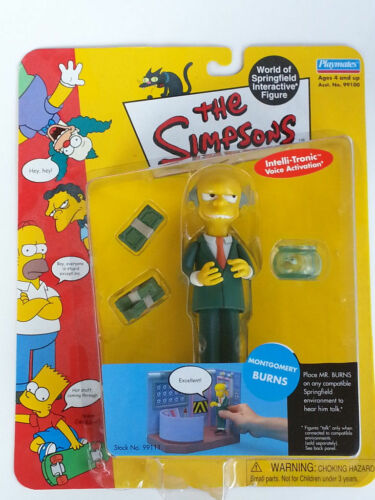 WORLD of SPRINGFIELD MONTGOMERY BURNS The SIMPSONS