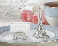 Eiffel Tower French Paris Silver Wedding Place Card Holder Table Decor 48 To 192