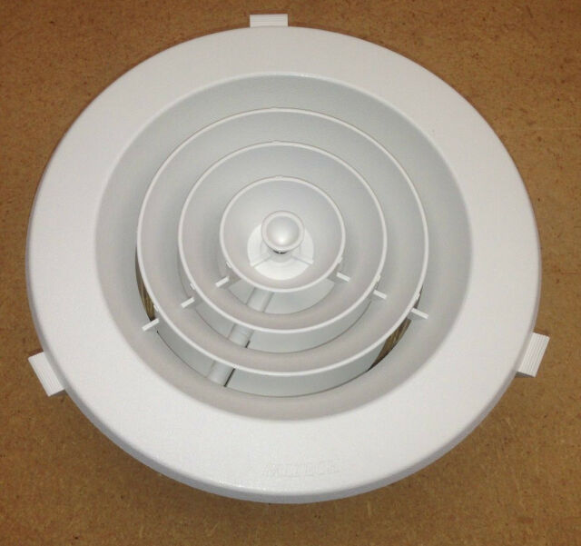 2x 6 Round Ceiling Diffuser Ceiling Vent Ducted Heating Downjet150mm Aus Made