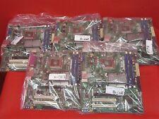 *LOT OF 5* Intel DG41RQ Motherboard & I/O Shield Socket LGA775 / 2 Slots DDR2
