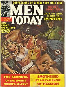 Men Today Magazine: April 1962 - Nazis, Crime, Sex, Torture, Vice, Pulp