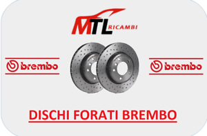 KIT-2-DISCHI-FORATI-POSTERIORI-FIAT-500-595-ABARTH-DAL-2009-AL-2018