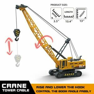 Engineering-Construction-Tractors-Crawler-Crane-Truck-Vehicle-Children-Toy-Model
