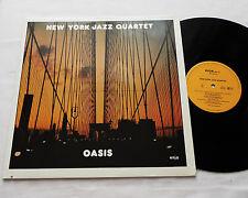 NEW YORK JAZZ QUARTET Oasis GERMANY LP ENJA 3083 (1981) EX/MINT