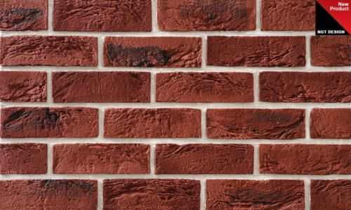 Pack of 7 BRICK SLIPS CLADDING WALL TILES FLEXIBLE SAMPLES ONLY