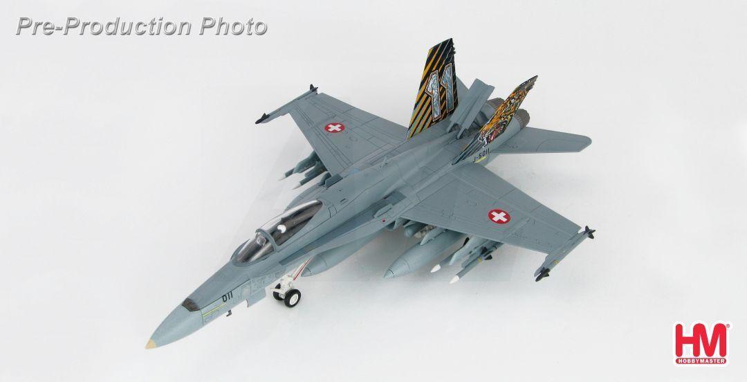 Hobby - meister ha3536, f   a-18c hornet j-5011, swiss air force, die nato tiger treffen