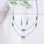 Women-Heart-Pendant-Choker-Chain-Crystal-Rhinestone-Necklace-Earring-Jewelry-Set thumbnail 9