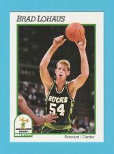 BASKETBALL - NBA PROPERTIES INC. - NBA HOOPS CARD NO.118 -  BRAD  LOHAUS  - 1991