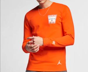 7137a433ad1454 NEW  Jordan x RW Russel Westbrook Why Not Men s Long-Sleeve T-Shirt ...