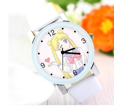 Nachdenklich Sailor Moon Anime Manga Cosplay Armbanduhr Uhr R.3.9cm