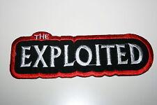 """Aufnäher """" the Exploited""""( zum aufbügeln oder aufnähen)31715"""