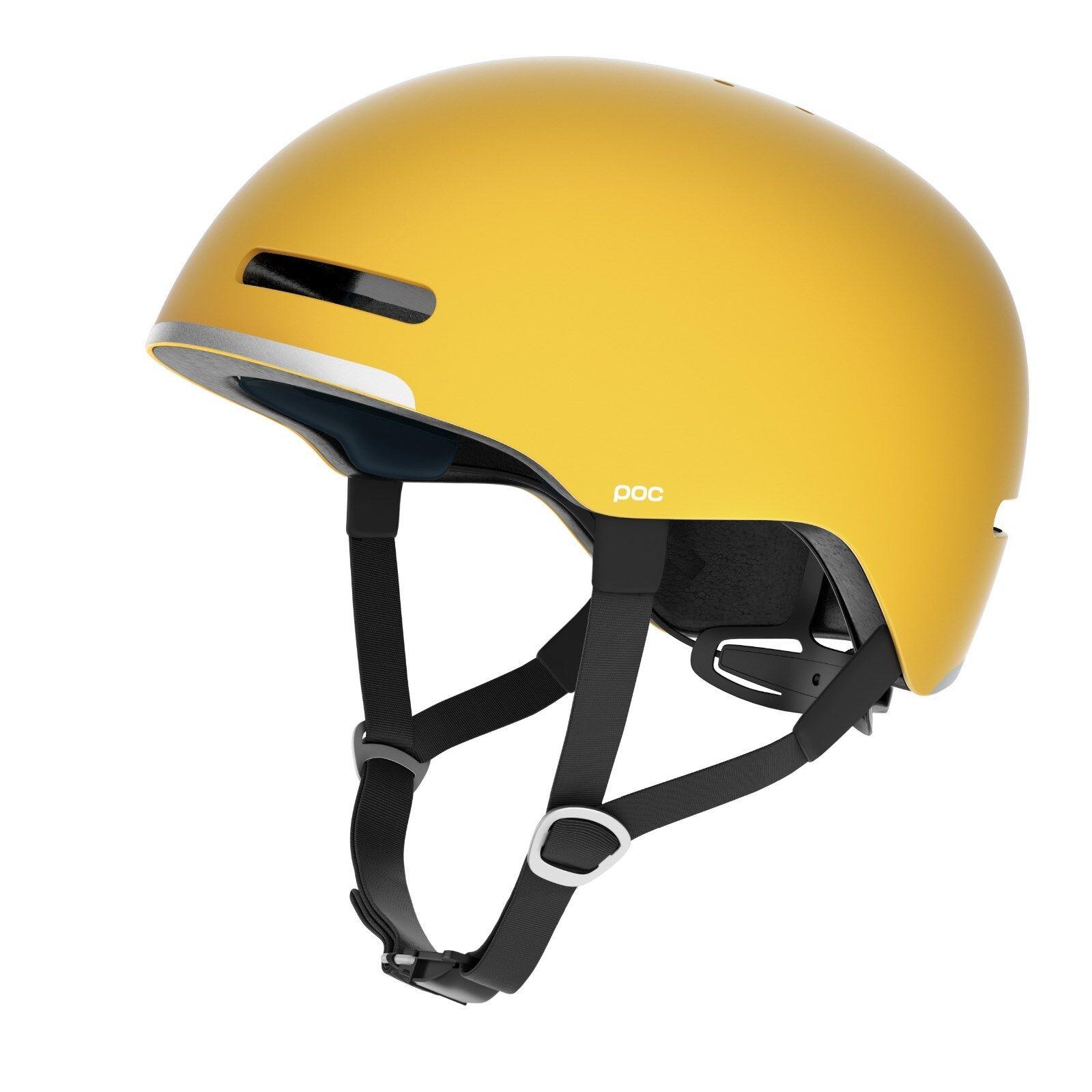 Fahrradhelm POC Corpora Sulphite Yellow  Gr. M-L NEU
